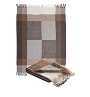 CHESTER Woven Wool and Alpaca Throw