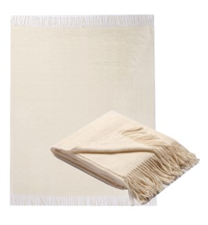 CRYSTALLINE Angora/Merino Wool Throw