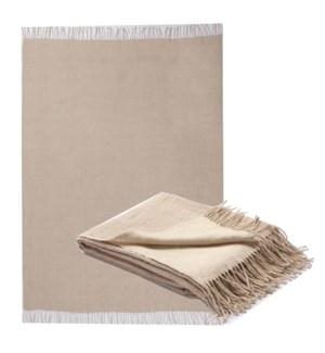 NATURALE Wool/Linen Throw