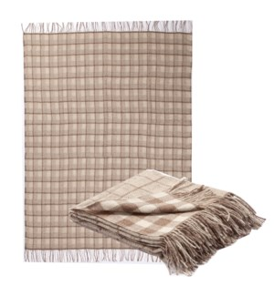 VINTAGE Wool/Linen Throw