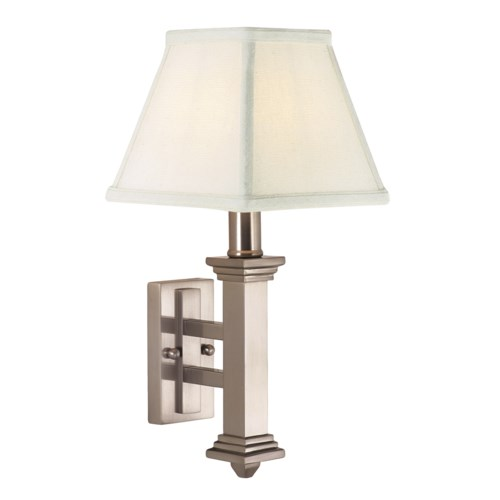 Decorative Wall Lamp WL609-SN - sconces - House of Troy