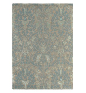 Autumn Flowers 4'7 x 6'7 Rug in Eggshell
