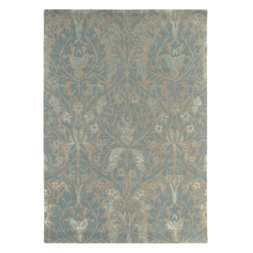 Autumn Flowers 5'7 x 7'10 Rug in Eggshell