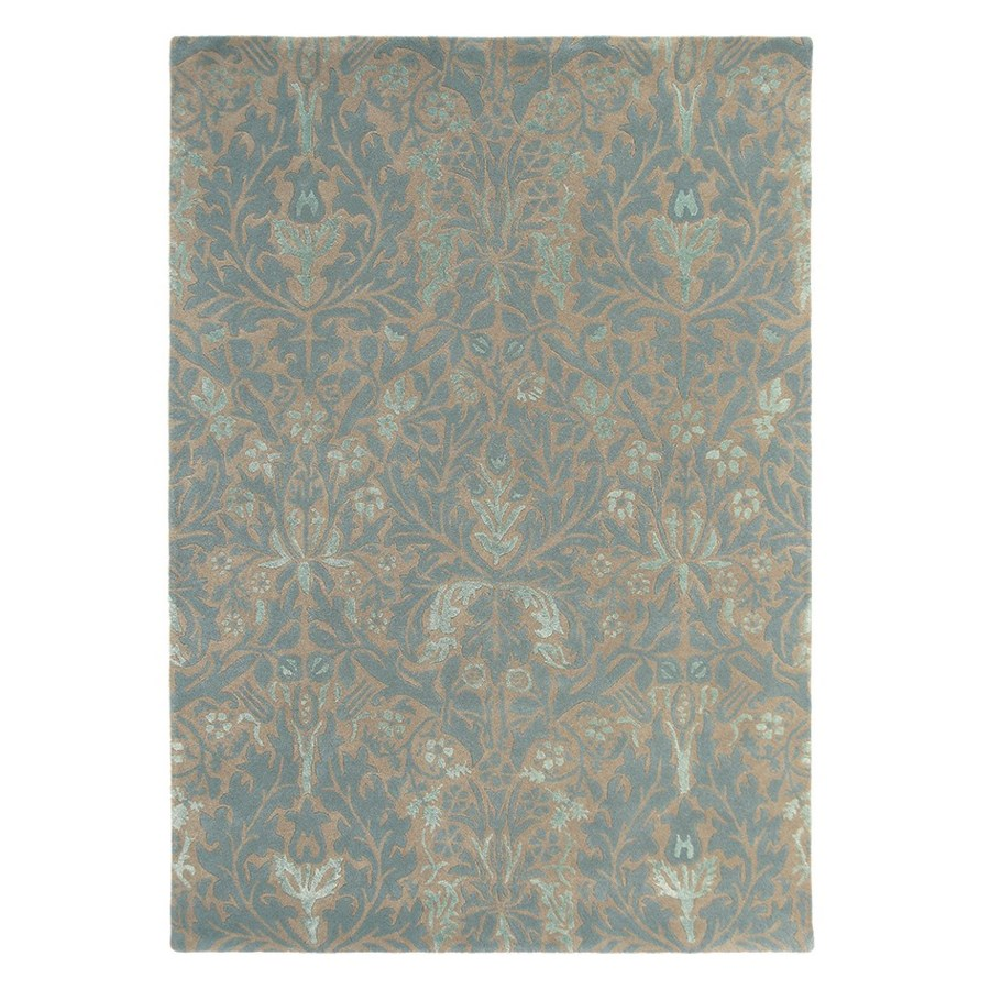 Autumn Flowers 6'7 x 9'2 Rug in Eggshell