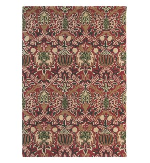 Granada 4'7 x 6'7 Rug in Red/Black