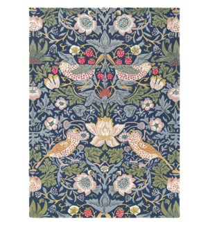 Strawberry Thief 6'7 x 9'2 Rug in Indigo
