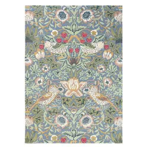 Strawberry Thief 6'7 x 9'2 Rug in Slate