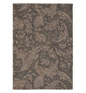 Bachelors Button 5'7 x 7'10 Rug in Charcoal
