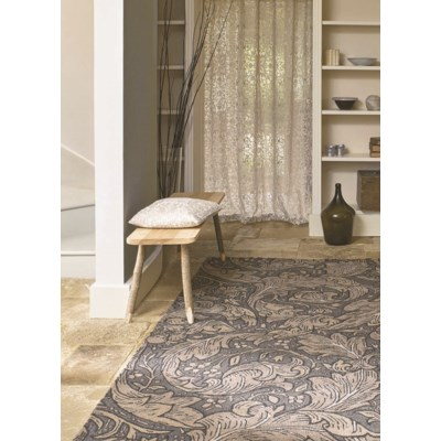 Bachelors Button 6'7 x 9'2 Rug in Charcoal