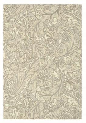 Bachelors Button 4'7 x 6'7 Rug in Linen