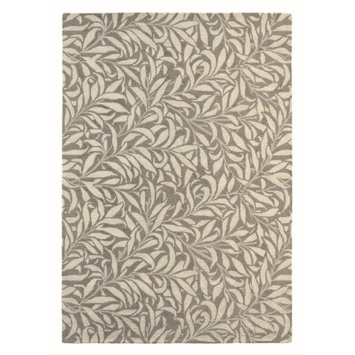 Willow Bough 6'7 x 9'2 Rug in Mole