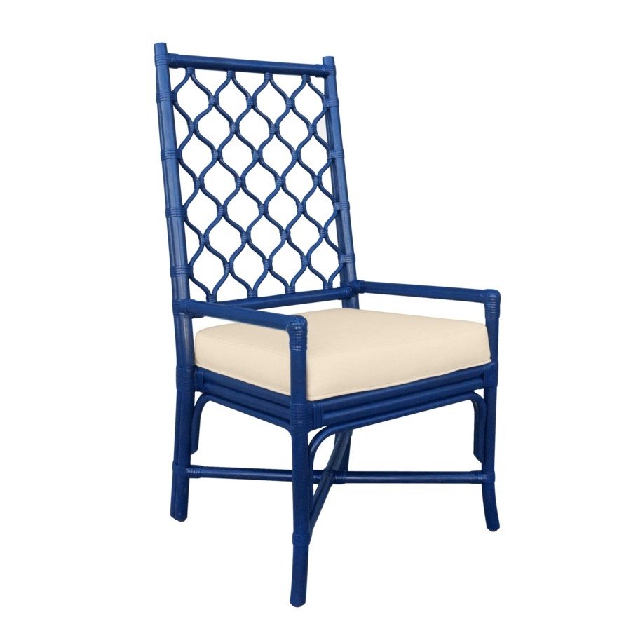 Ambrose Arm Chair - Blueberry - seating - Selamat Designs