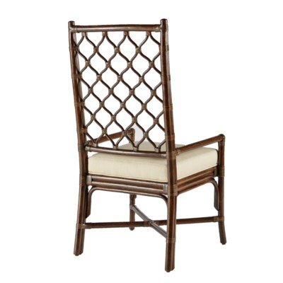 Ambrose Arm Chair in Clove