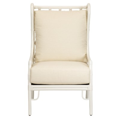 Ambrose Wing Chair in White