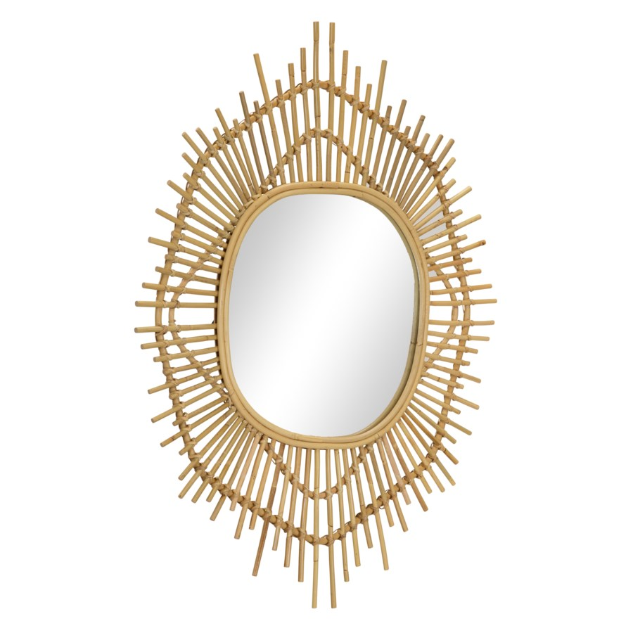 Aster Mirror in Natural