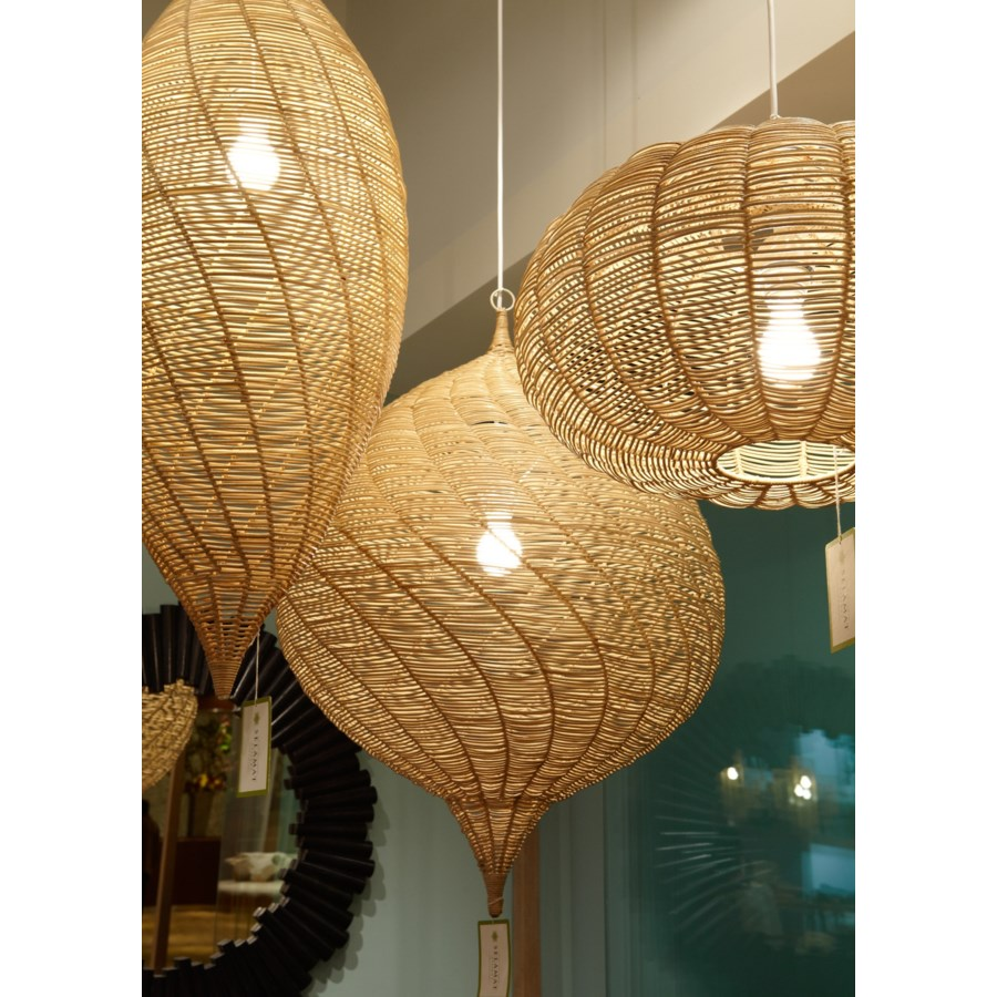 Calabash Long Pendant in Natural