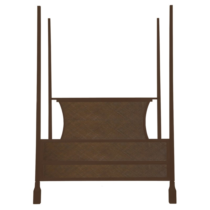 Caprice Four Poster Queen Bed in Hazelnut