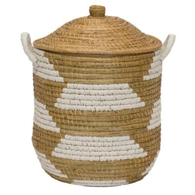 Clemente Lidded Basket