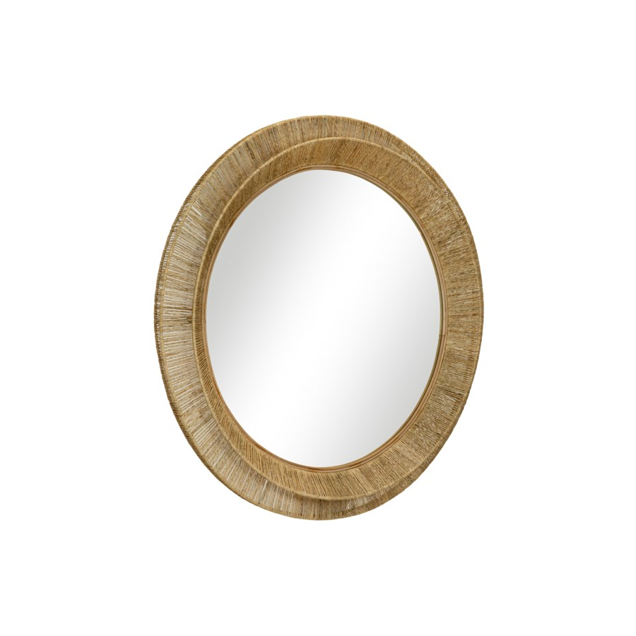 Collins Small Mirror in Natural