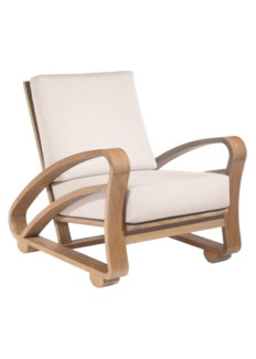 Cuban Lounge Chair - Teak, Outdoor