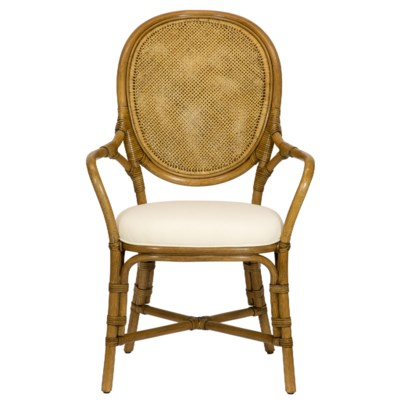 Dahlia Arm Chair in Nutmeg