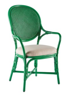 Dahlia Arm Chair - Parsley