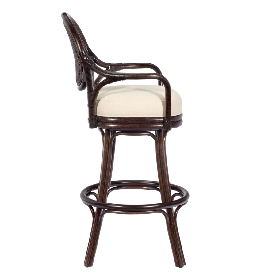Dahlia Bar Stool in Clove