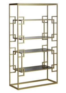 Athens Etagere - Antique Gold