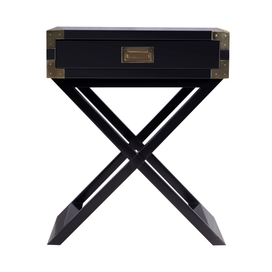 Chiba Side Table in Ebony