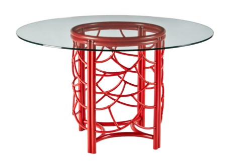 DOT Dining Table (base only) - Antique Red