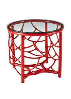 DOT Side Table - Antique Red