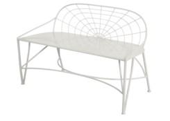 Mayfair Garden Bench - White