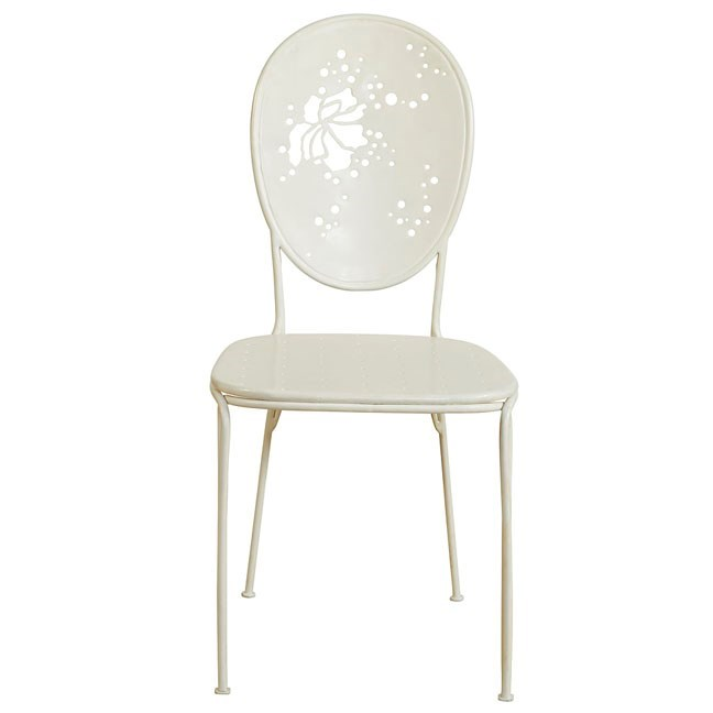 Mayfair Bistro Chair in White - Inactive