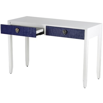 Shanghai Console Desk in Navy