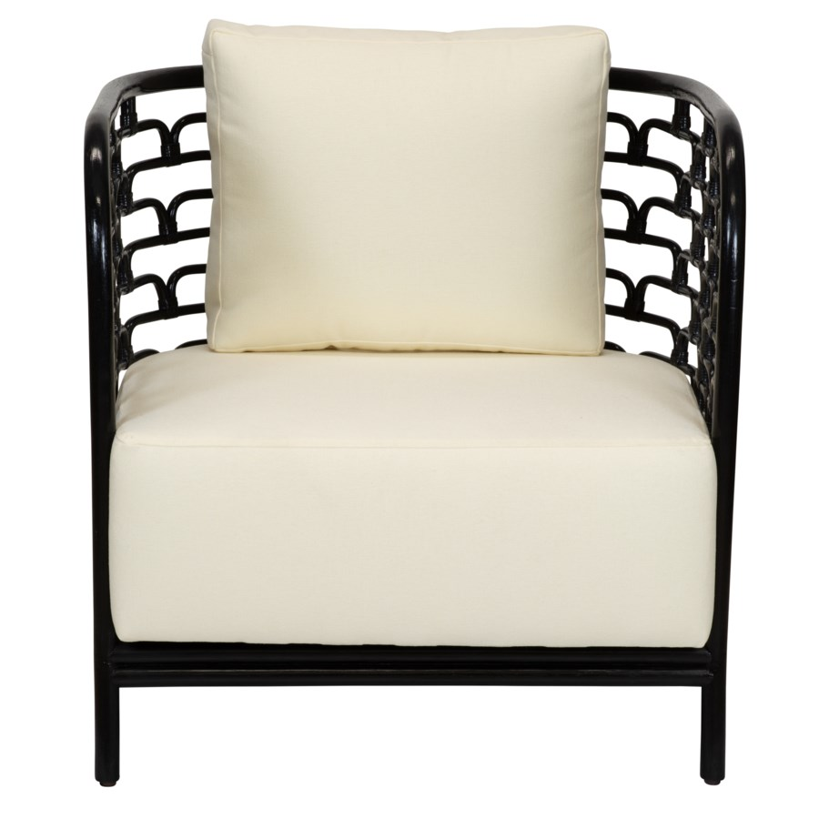 Steps Lounge Chair in Black