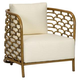 Sydney Mod Steps Barrel Chair - Nutmeg