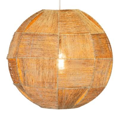 High Ball Hanging Pendant - Natural