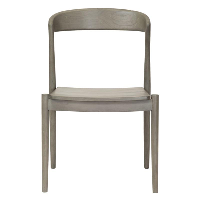Ingrid Side Chair in Grey
