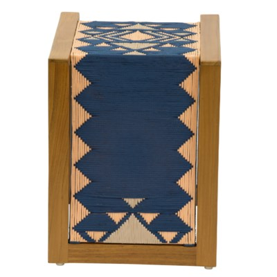 Inverness Side Table in Blue