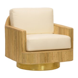 Moses Lounge Chair - Natural