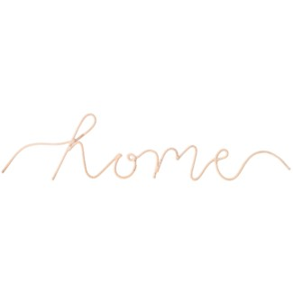 """Home"" Word Art, Sold as set of 5"