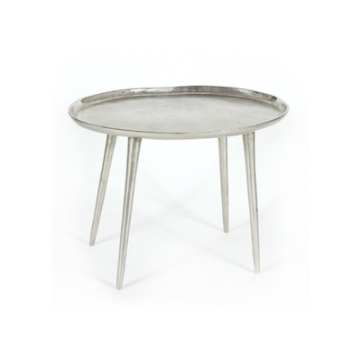Lake Side Table Small Pewter