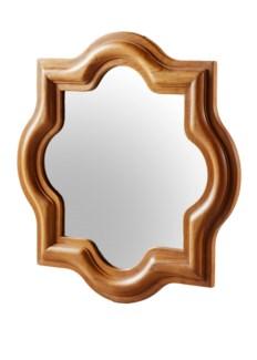 Master's Collection Tudor Wall Mirror - Teak