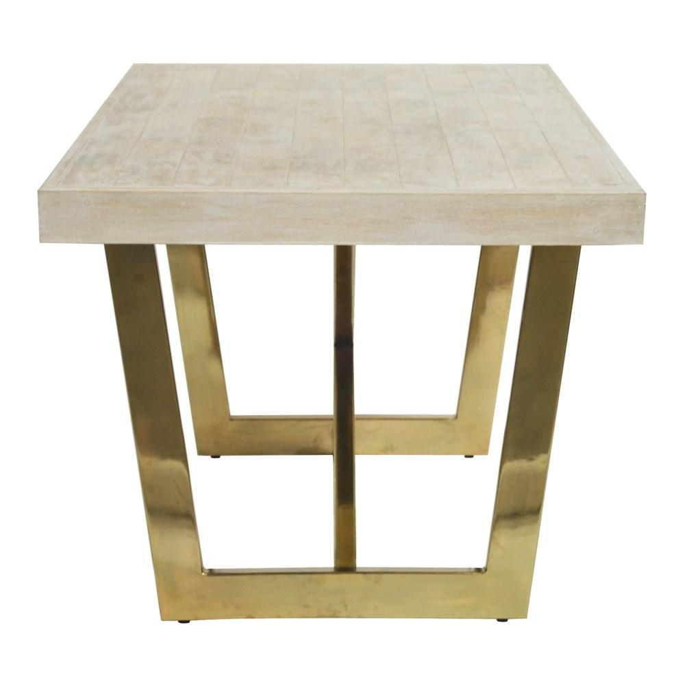 Miramar Dining Table in Whitewashed