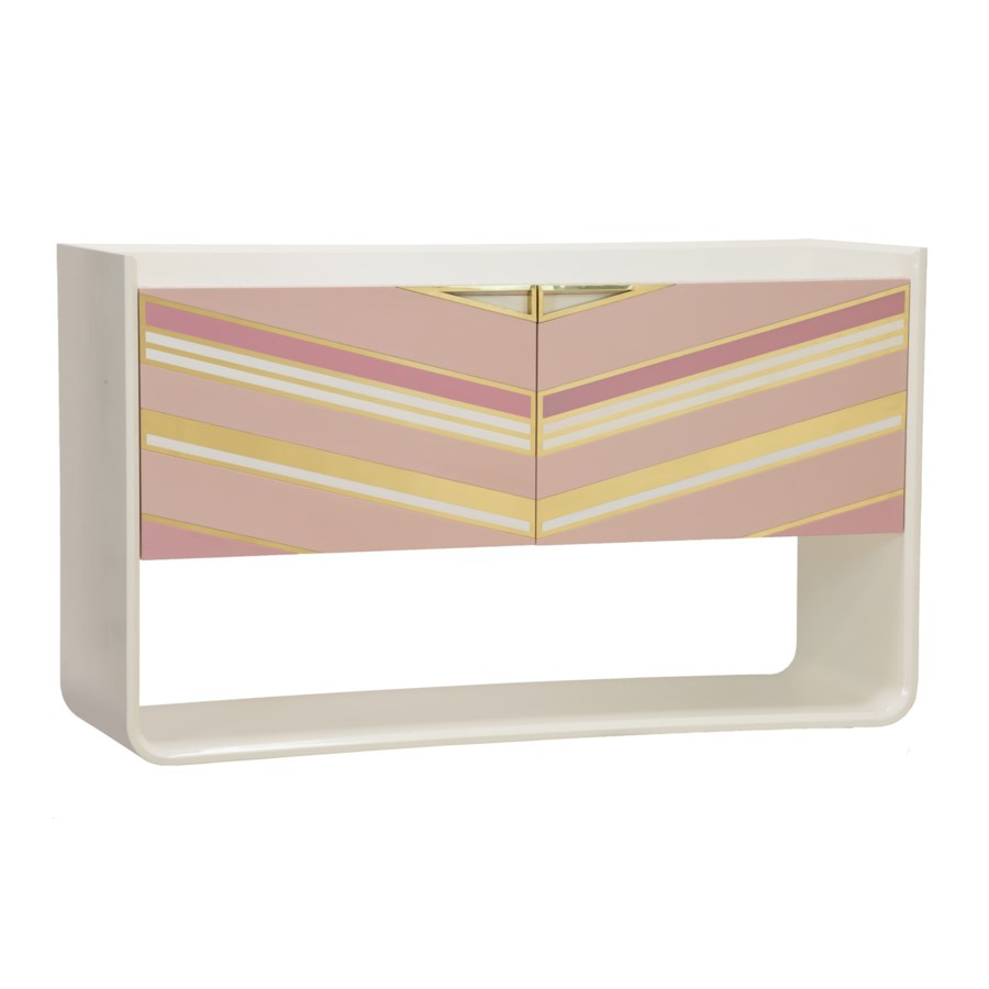 Morgan Credenza in Blush