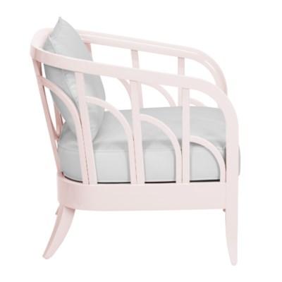 Morgan Lounge Chairin Blush