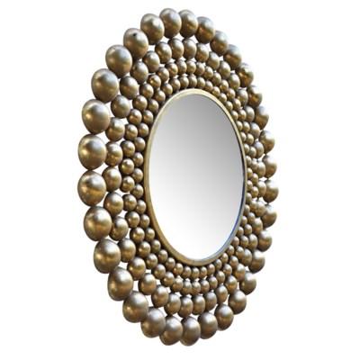 Orbit Mirror in Gold