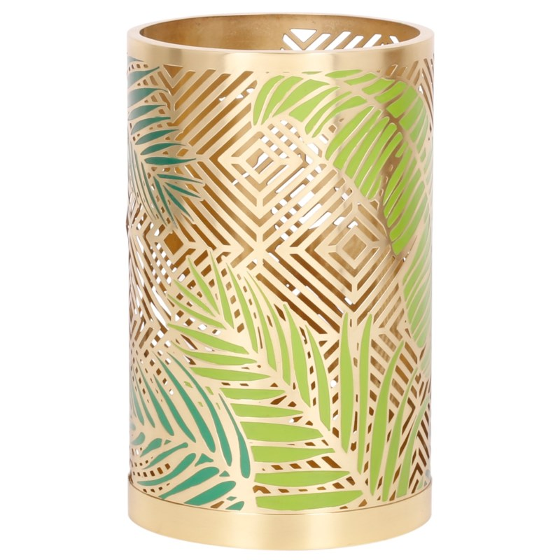 Palm Hurricane, Large in Brass (Set of 2)