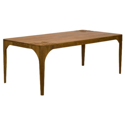 Pinnacles Dining Table - Natural Teak
