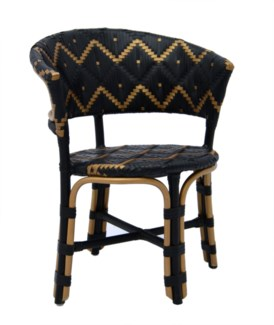 Pinnacles Occasional Chair - Natural/Black